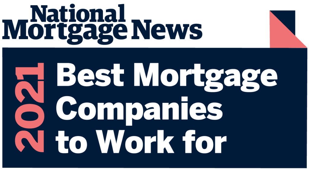 Best Mortgage Comapnies to work for 2021